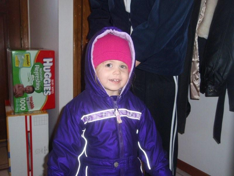 New snow suit!
