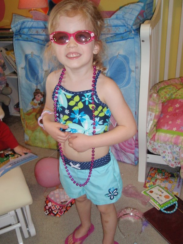 All set for beach day at preschool!