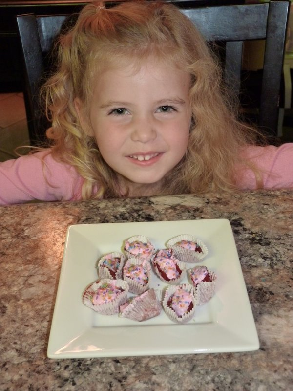 Easy-Bake cupcakes by Molly