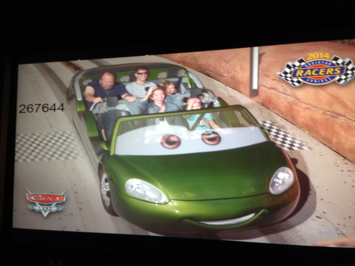 Radiator Springs Racers!