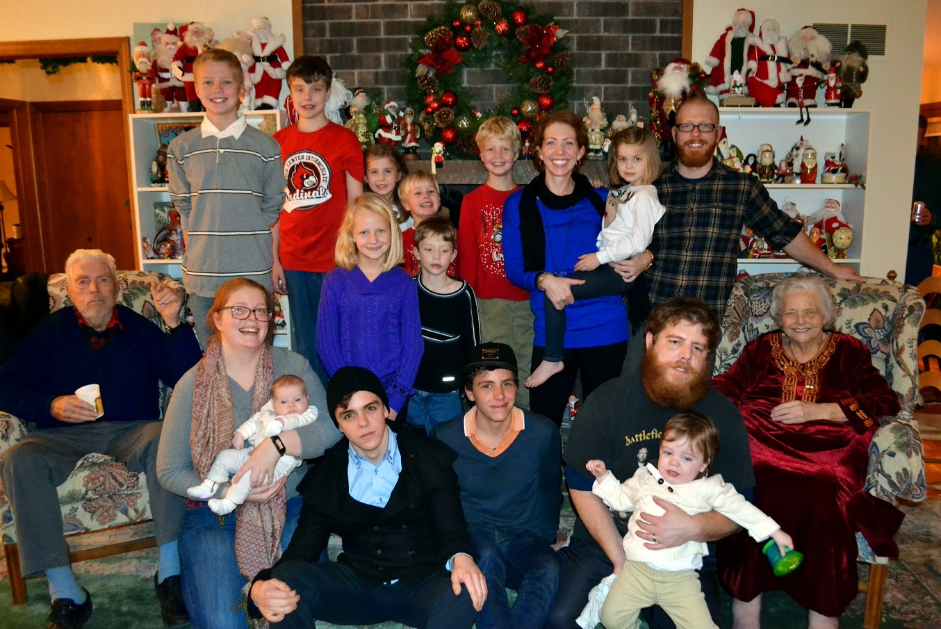 All the Randolph grand and great-grand kids!