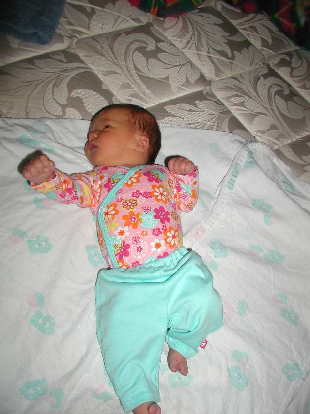 Yeah, Jensen let me borrow her outfit!