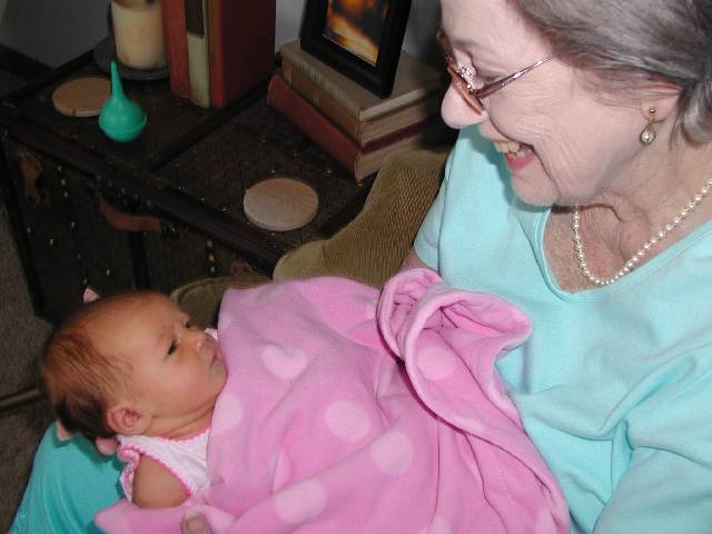 Great Grandma Lafferty and Molly